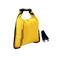 Водонепроницаемый гермомешок (с плечевым ремнем) OverBoard OB1002Y - Waterproof Dry Flat Bag - 5L.