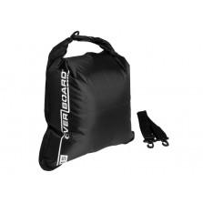 Водонепроницаемый гермомешок (с плечевым ремнем) OverBoard OB1004BLK - Waterproof Dry Flat Bag - 15L (Black)