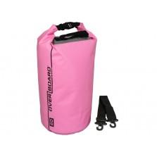 Водонепроницаемый гермомешок (с плечевым ремнем) OverBoard OB1005P - Waterproof Dry Tube Bag - 20L (Pink)