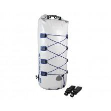 Водонепроницаемый гермомешок-рюкзак (с двумя плечевыми ремнями) OverBoard OB1017WHT - Waterproof Boat Master Dry Tube - 40 Litres.
