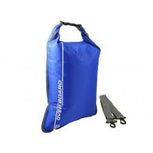 Водонепроницаемый гермомешок (с плечевым ремнем) OverBoard OB1026B - Waterproof Dry Flat Bag - 30L (Blue)