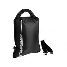 Водонепроницаемый гермомешок (с плечевым ремнем) OverBoard OB1026BLK - Waterproof Dry Flat Bag - 30L.