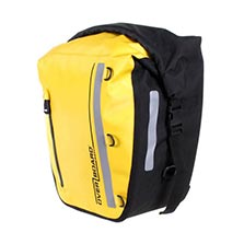 Водонепроницаемая сумка с креплением на раму к заднему колесу велосипедаOverBoard OB1159Y - 17 литров (Yellow)