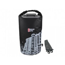 Водонепроницаемая сумка OverBoard US1005BLK-Cityscape - Waterproof Dry Tube Bag - 20L.