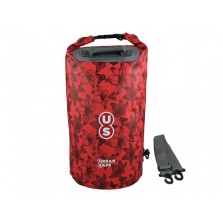 Водонепроницаемая сумка OverBoard US1005R-Flowers - Waterproof Dry Tube Bag - 20L.