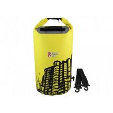 Водонепроницаемый гермомешок (с плечевым ремнем) OverBoard US1005Y-Cityscape - Waterproof Dry Tube Bag - 20L.